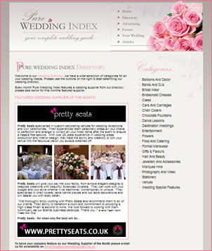 Wedding Supplier of the Month